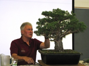 Walter Pall NC Bonsai Expo