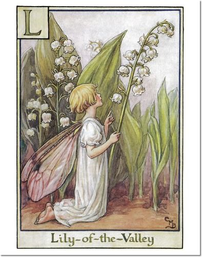 Cicely Mary Barker Lily of the Valley Fairy