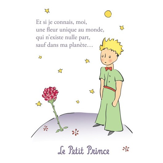Illustration from Le Petit Prince by Antoine de Saint-Exupery.